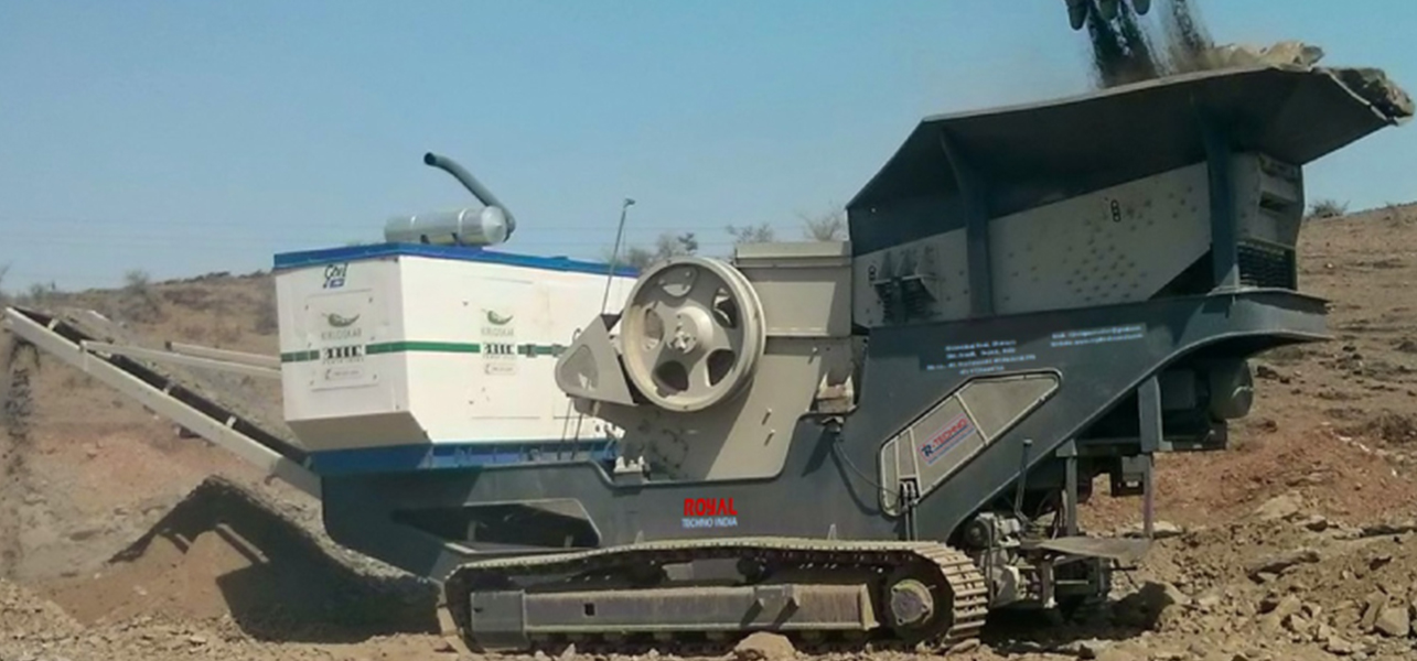 Stationary & Mobile Crushing & Screening Plant