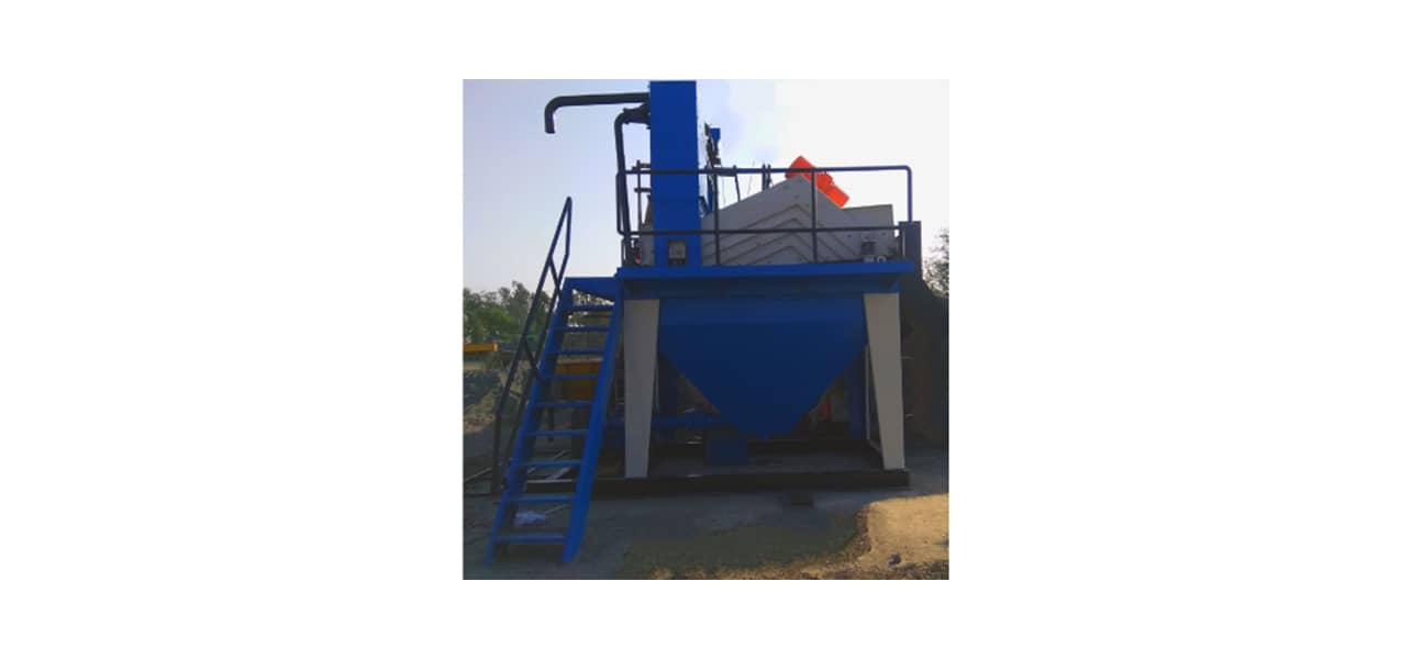 Hydrocyclone Washing With Dewatering Screen